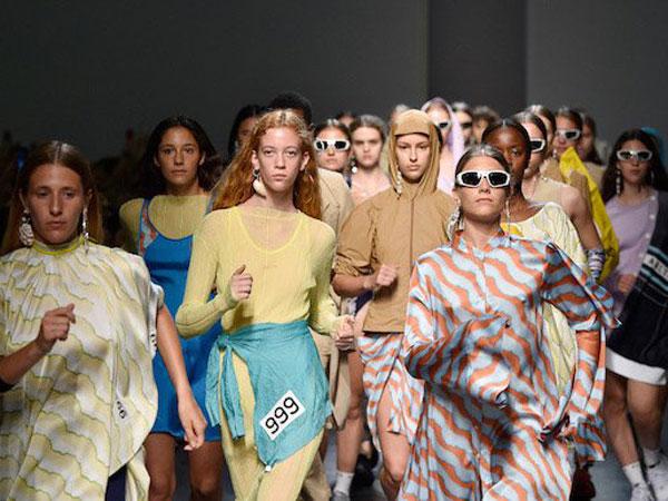 Uniknya Saat Fashion dan Olahraga Bersatu dalam Panggung Milan Fashion Week