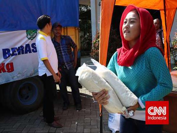 Harga Beras Naik, Jokowi Blusukan