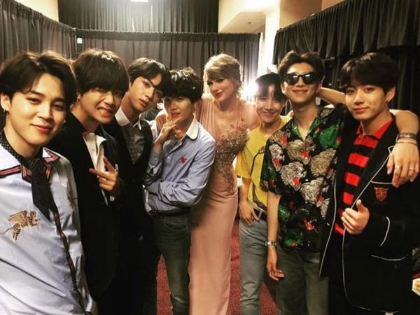 Alasan ARMY Percaya Bahwa Album Lover Taylor Swift Terinspirasi dari Album BTS