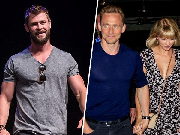 Ini Tanggapan Lucu Chris Hemsworth Soal Hubungan Asmara Tom Hiddleston dan Taylor Swift