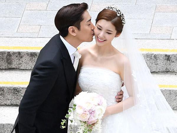 Selamat, Eric Shinhwa dan Aktris Na Hye Mi Akhirnya Resmi Menikah!