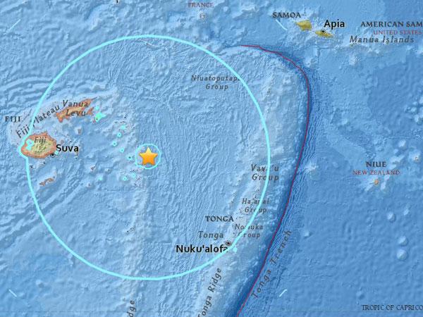 Bagaimana Bisa Guncangan Gempa 6.7 SR Fiji Tak Dirasakan oleh Warganya?