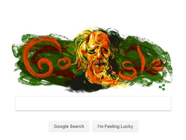 Seniman Legendaris Indonesia Affandi Muncul di Google Doodle Hari Ini