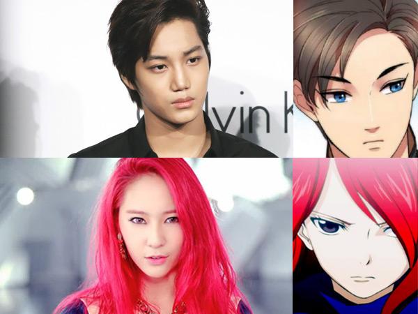 Mirip, 10 Idola K-Pop Ini Disebut Sebagai Versi Manusia dari Anime (part 1)