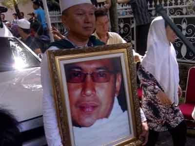 Jenasah Uje Disambut Ribuan Jamaah Istiqlal