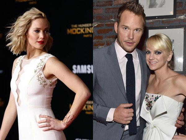 Jennifer Lawrence Kembali Dituduh Penyebab Chris Pratt dan Anna Faris Cerai
