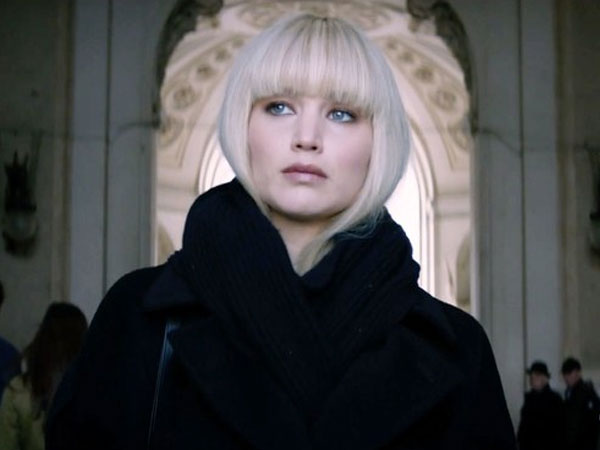 Film Terbaru Jennifer Lawrence 'Red Sparrow' Rilis Trailer Baru