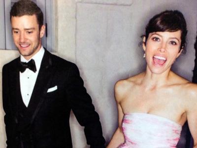 Gugup, Justin Timberlake Sakit Saat Nikahi Jessica Biel