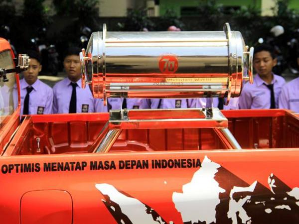 Tanam Kapsul Waktu Impian Indonesia, Jokowi Ajak Generasi Muda Bekerja
