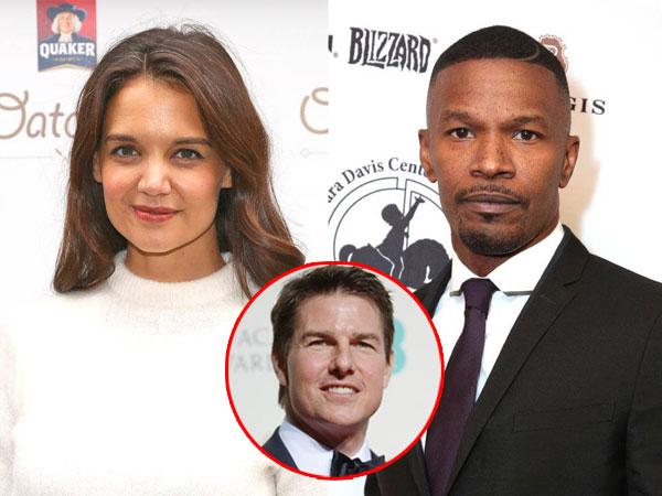Kencan Romantis Katie Holmes dan Jamie Foxx Dekat Lokasi Syuting Tom Cruise
