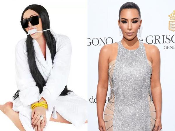 Terinspirasi dari Perampokan Kim Kardashian, Kostum Halloween Ini Tuai Kontroversi!