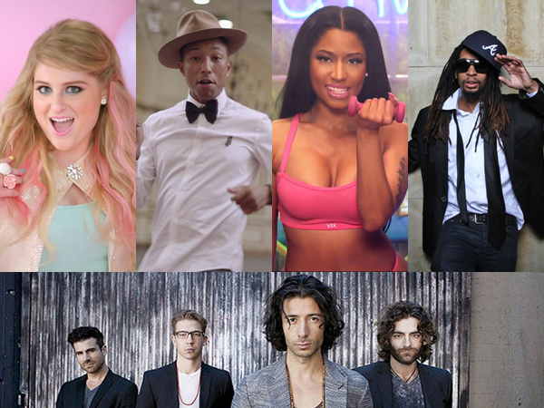 Ini Daftar Lagu Paling 'Mengganggu' yang Rilis di Tahun 2014!