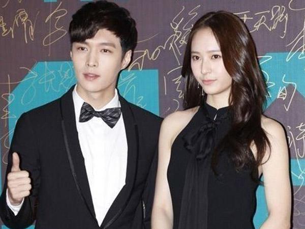Hadiri Konferensi Pers Film Terbaru, Lay EXO dan Kystal f(x) Saling Pamer Skinship