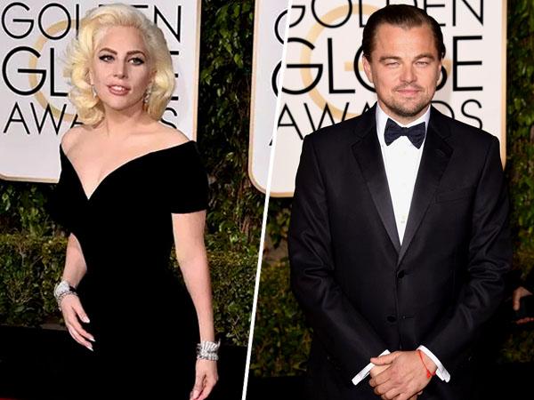 Ini Reaksi Lady Gaga Saat Lihat Tatapan Konyol Leonardo DiCaprio Pada Dirinya