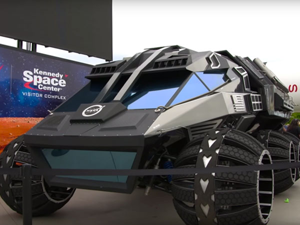 Penampakan Mobil Futuristik Milik NASA yang Siap Menjelajah Planet Mars