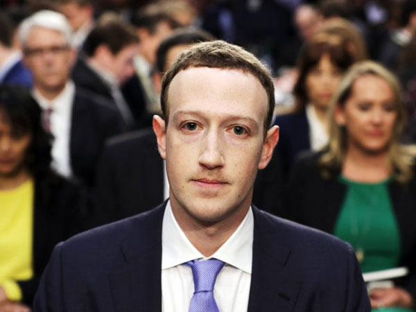 Skandal Kebocoran Data Facebook, Mark Zuckerberg Dicecar Kongres AS Selama 5 Jam