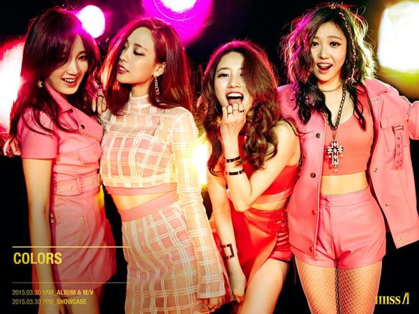 Cantiknya Para Member miss A Tampil Bernuansa Pink di Teaser Comebacknya