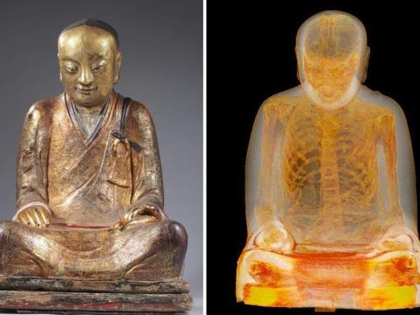 Hiii, Ada Mumi di Dalam Patung Buddha Ini?
