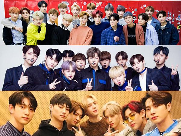 NCT, Wanna One Hingga GOT7 Terpilih Jadi Penerima Sertifikat Bergengsi Pertama Gaon Chart