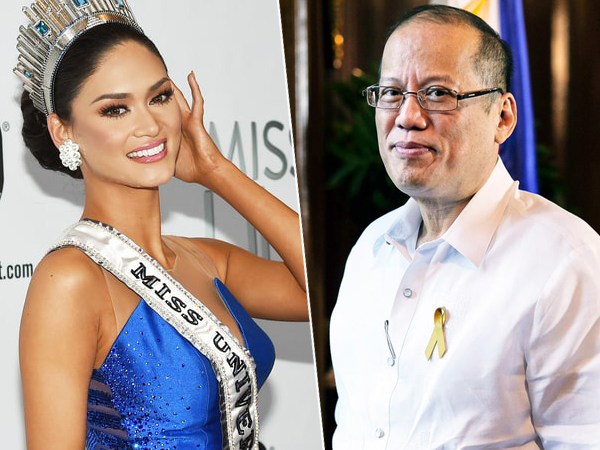 Pia Wurtzbach Pacaran dengan Presiden Filipina Benigno Aquino III?