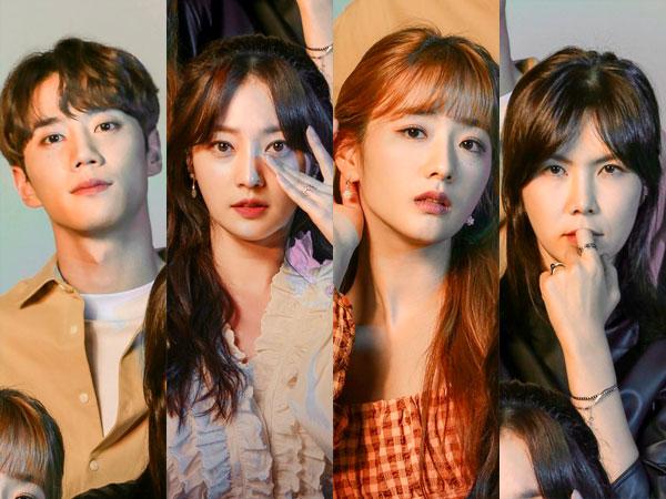 Drama Baru Jun U-KISS, Song Ha Yoon, Bomi Apink, dan Gong Min Jung Ungkap Poster Utama