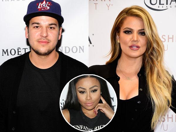 Resmi Pacari Blac Chyna, Rob Kardashian Diusir dari Rumah Khloe Kardashian!