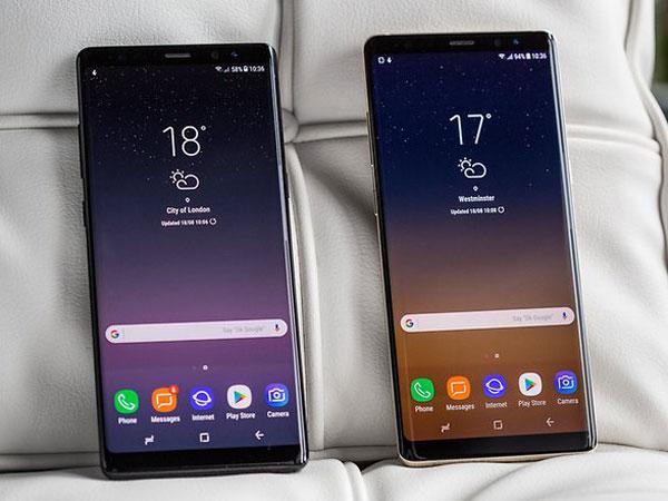 Dibaderol 13 Juta, Ini Beda Spesifikasi Samsung Galaxy Note 8 di Indonesia