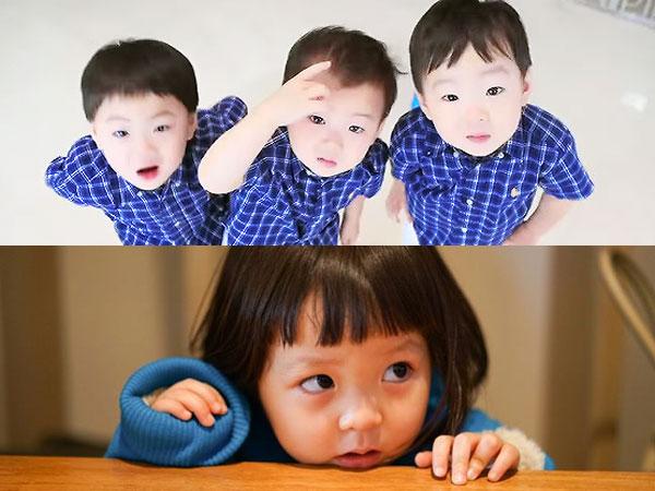 Sarang Belajar Jadi Kakak Untuk Kembar Tiga Song Il Gook di 'Superman Has Returned'