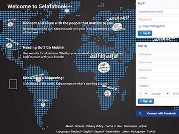 ISIS Luncurkan Jejaring Sosial Bernama 5elafabook.com