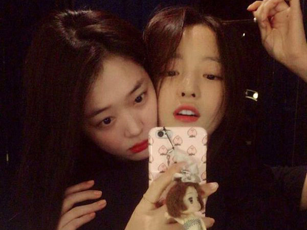Heboh Ciuman Sulli-Hara di Live Instagram, Begini Pro Kontra Diantara Netizen Korea