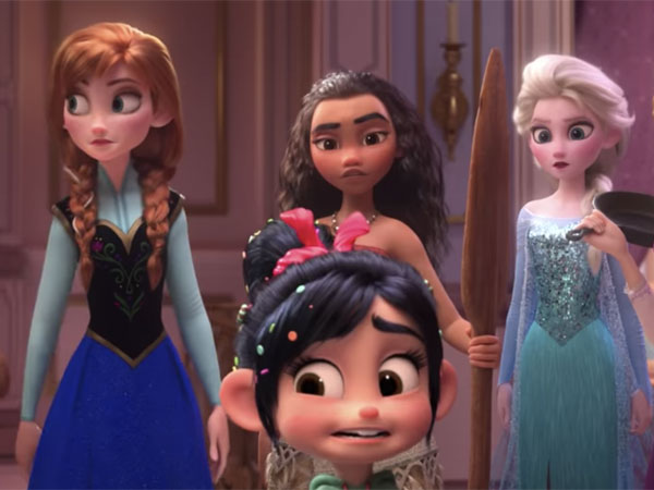 Trailer 'Wreck It Ralph 2' Didominasi Oleh Seluruh 'Princess' Disney!