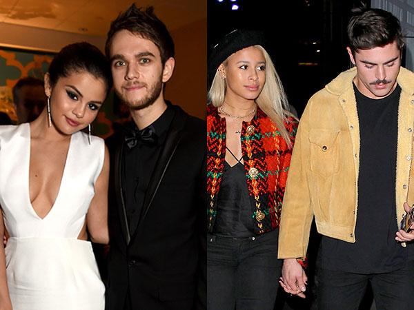 Wah, Selena Gomez &  Zedd Pergi Double Date dengan Zac Efron & Sami Miro!
