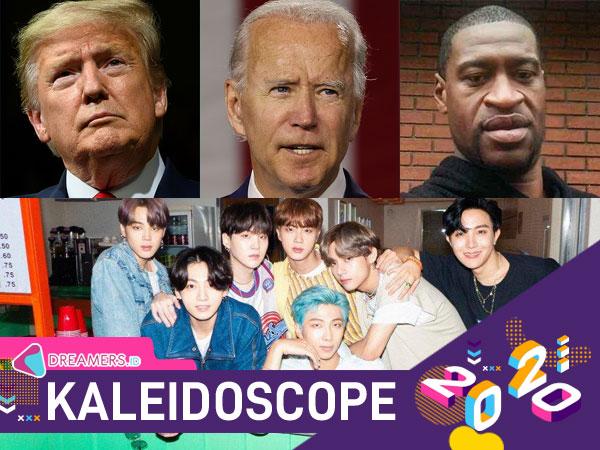 Donald Trump, George Floyd Hingga BTS Jadi Sosok Paling Diperbincangkan di Twitter 2020