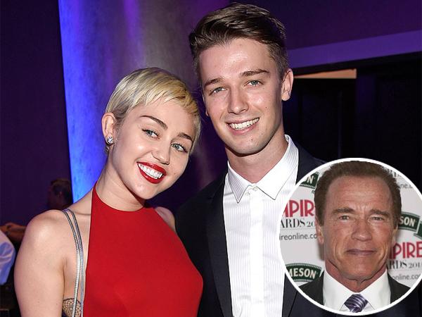 Arnold Schwarzenegger Akhirnya Angkat Bicara Soal Hubungan Puteranya dengan Miley Cyrus