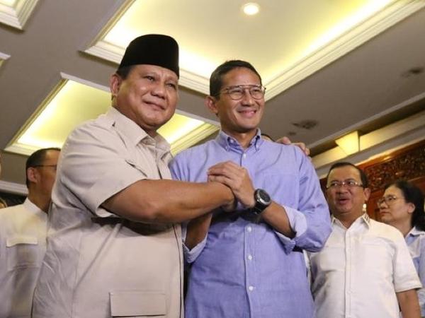 Benarkah Hubungan Prabowo-Sandiaga Merenggang Pasca Pertemuan dengan Megawati?