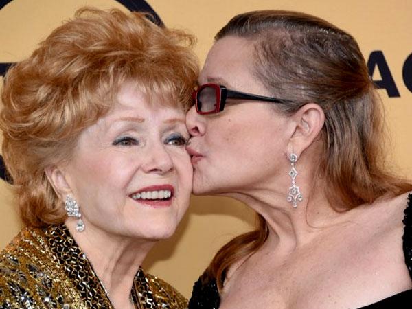 Kabar Duka, Ibunda Carrie Fisher 'Star Wars' Meninggal Dunia