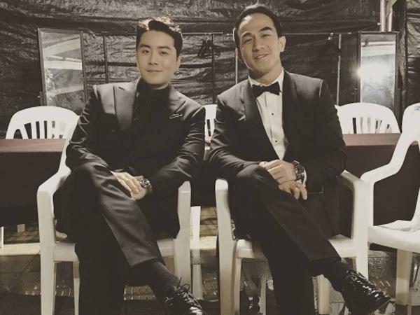 Gunakan Lirik Bahasa Indonesia dan Korea, Joe Taslim Duet Bareng Eru di 'APAN Star Awards'