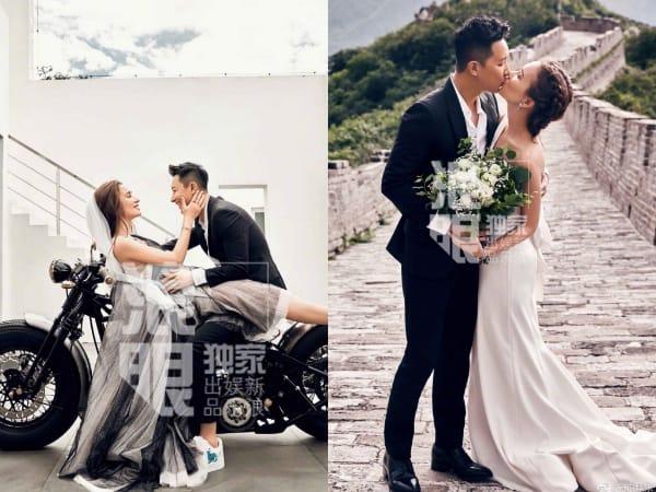Intip Foto Pre-Wedding Romantis Hangeng dan Kekasih, Sampai ke Tembok Cina