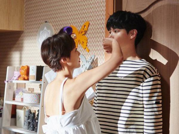 Adegan Lucu Hwang Jung Eum & Ryu Jun Yeol di 'Lucky Romance' Ini Ternyata Tak Ada di Skrip?