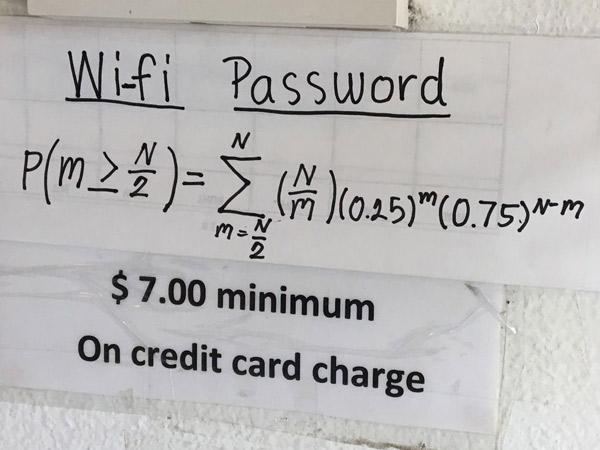 Restoran Ini Gunakan Soal Matematika Sebagai Password Wifi, Unik atau Menyebalkan?