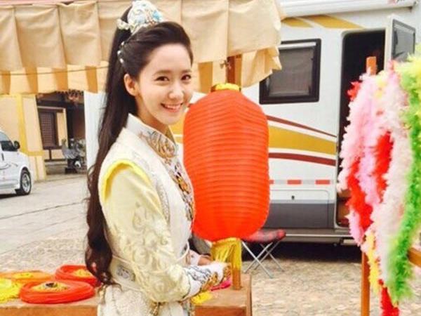 Ungkap Rasa Terima Kasih, YoonA SNSD Bagikan Foto di Balik Layar 'God Of War, Zhao Yun'