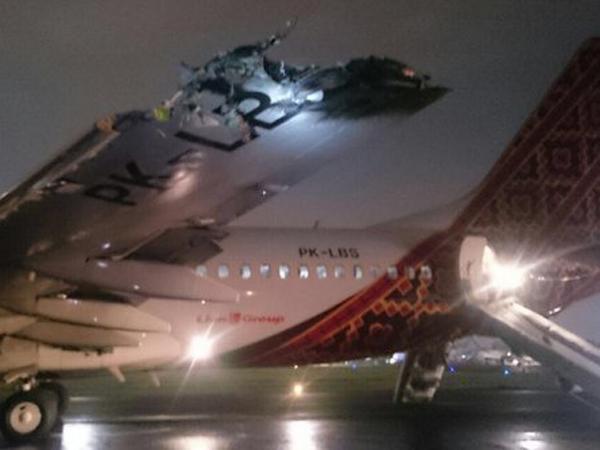 Batik Air dan TransNusa Tabrakan di Bandara Halim, Investigasi Masih Dilakukan