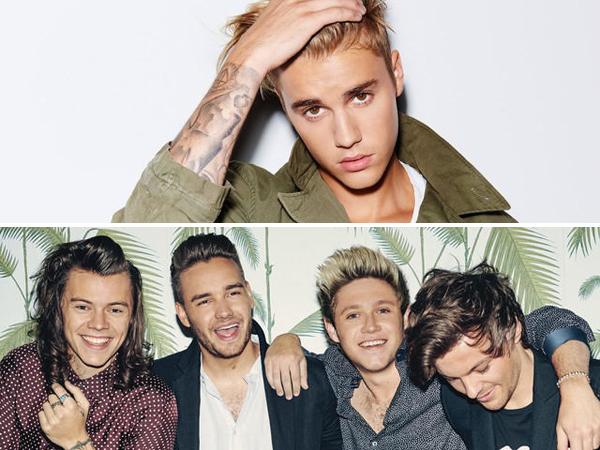 Rilis Album Baru di Hari yang Sama, Justin Bieber Cibir One Direction?