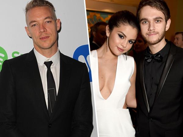Diplo Klaim Selena Gomez dan Zedd Palsukan Hubungan Asmaranya Demi Lagu Duetnya