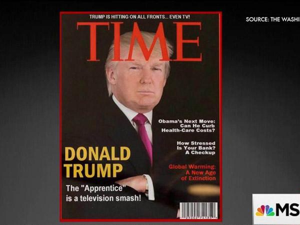 Terungkap, Foto Donald Trump di Sampul TIME 2009 Ini Terbukti Palsu?