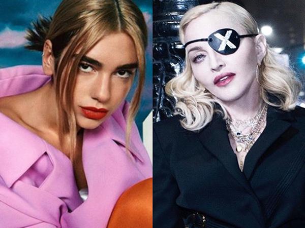 Wujudkan Mimpi, Dua Lipa Kolaborasi dengan Madonna