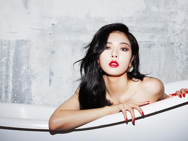 Terlihat Lebih Seksi, HyunA 4minute Operasi Payudara?
