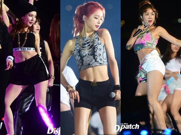 Ketika Para Girl Group Berlomba Pamer Figur Indahnya di 'Dream Concert 2015'