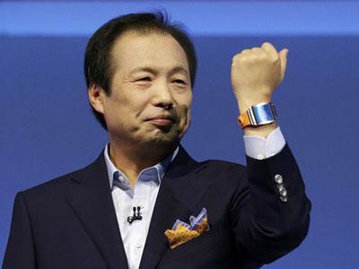 Samsung Resmi Luncurkan Jam Galaxy Gear
