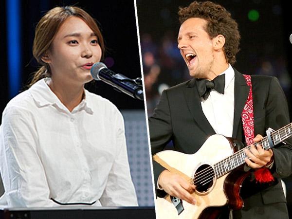 Sempatkan Hadir ke SBS, Jason Mraz Beri Nasihat untuk Kontestan 'K-Pop Star 4'